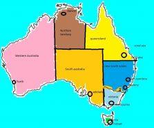stati e territori Australia